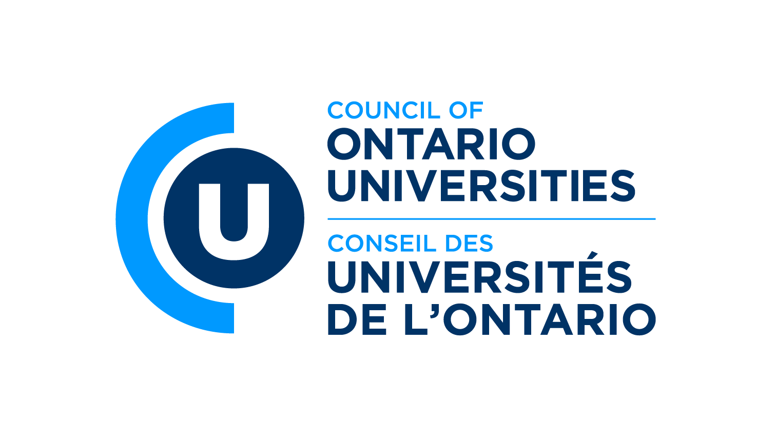 Council of Ontario Universities logo for print