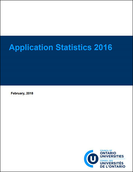 Application Statistics 2016